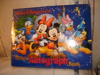 Walt Disney World Official Autograph Book - NEW & SEALED