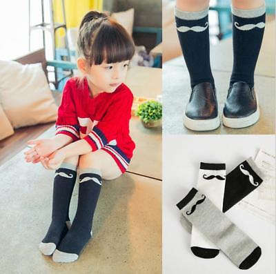 Kids' Socks Boys Girls Cute Bearded Pure Cotton Child 0-1 Years Gray Color Socks