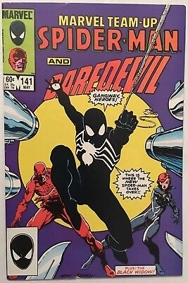 Marvel Team-Up #141 (1984) Marvel VF Condition Spider-man Daredevil New Costume