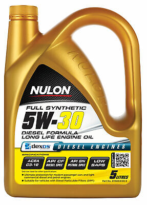Nulon Full Synthetic Long Life Engine Oil 5W30 5L SYND5W30-5