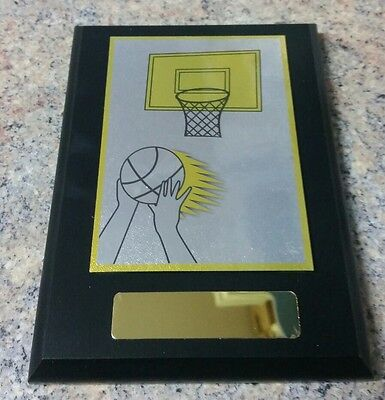 13 x Basketball Plaque Trophies