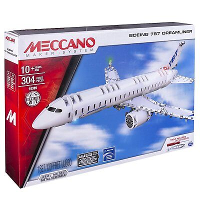 New MECCANO 16305 BOEING 787 DREAMLINER - Building Construction Toy Real Metal
