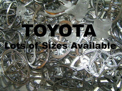 """TOYOTA 90mm Genuine Badge 3 5/8"""" Emblem OTHER SIZES AVAILABLE *Good Cond* Camry"""