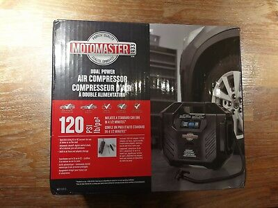 MotoMaster 120PSI Dual Power Compressor