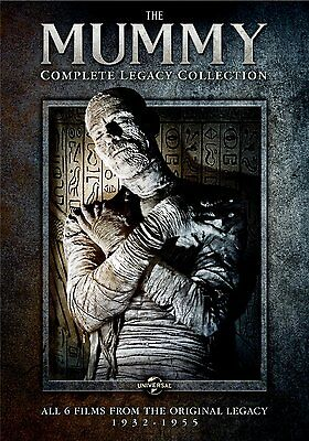 Mummy Complete Legacy Collection DVD Set Horror Series Scary Film Lot Box Ghost