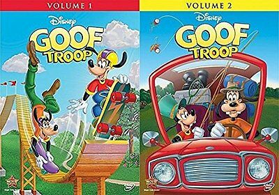 Disney's Goof Troop DVD Set Volume 1 & 2 Complete Series Collection All Goofy TV