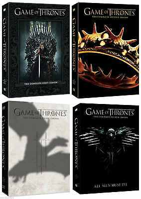 Game of Thrones ALL Season 1-4 Complete DVD Set Collection Series TV Lot Box HBO