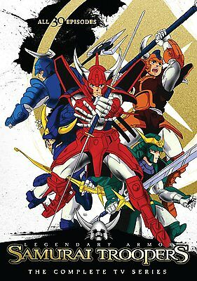 Samurai Troopers Complete Series DVD Set TV Animated Collection Episod Anime Lot