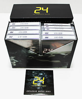 24 Complete Series Season 1-8 DVD SET Collection TV Show Episodes Lot Box Kiefe