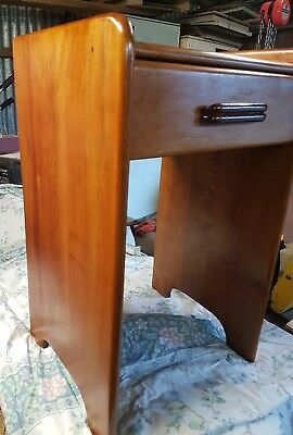 Art Deco Occasional Table Refurbished P/U Northcote or Trentham
