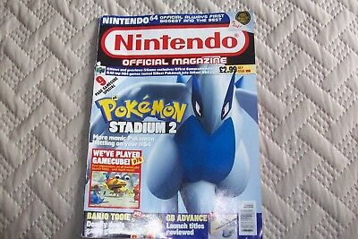 Nintendo Official Magazine - July  2001 Issue 106 Pokemon