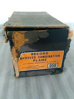Record no 50A improved combination plane