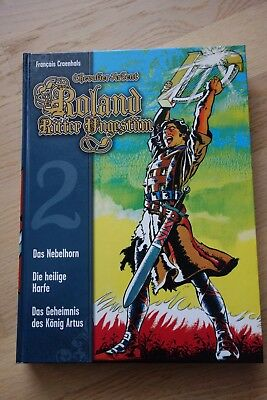 Roland - Ritter Ungestüm Nr. 2 (Cross Cult Comic) Hardcover - Top-Zustand