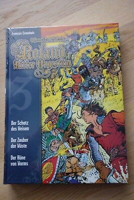 Roland - Ritter Ungestüm Nr. 3 (Cross Cult Comic) Hardcover - Top-Zustand
