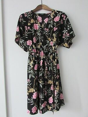 NEW LOOK Maternity Floral Dress UK SIZE 14