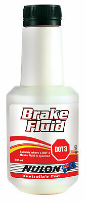 Nulon Brake Fluid DOT 3 500mL BF3