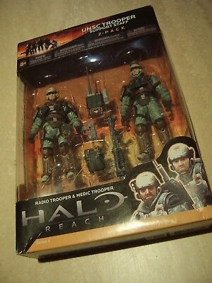 McFarlane Toys Halo Reach Series 3 UNSC Trooper Support Staff - Medic Trooper