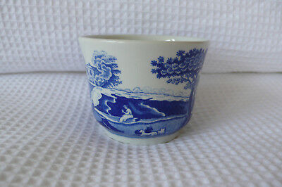 Spode Blue Italian Votive Dish Bowl 7Cm Wide Made In England