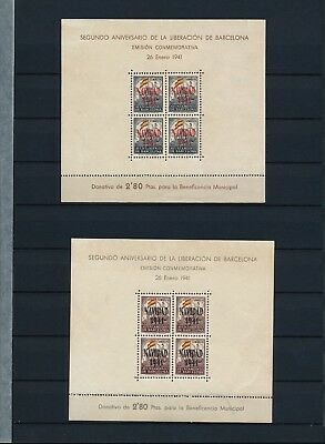 Spain. Double stockpage with civil war issues #11