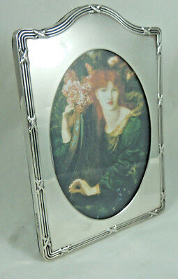 Vintage Solid Silver Photo Frame London 1990