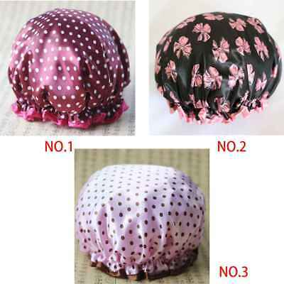 Elasticity Thickness Shower Kitchen Hair Protector Shield Protection Cap Cover