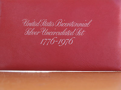 US Bicentennial Silver Uncirculated Set 1776-1976
