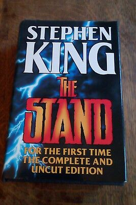 The Stand by Stephen King Hardback Complete Uncut Edition