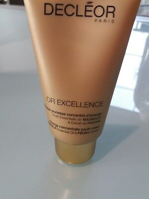 Masque or excellence jeunesse tube 50 ml Decleor