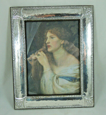 Vintage Italian Solid Silver Photo Frame Hallmarked .925