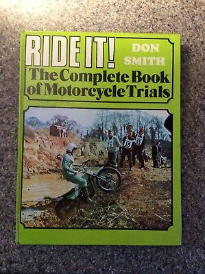 Ride It By Don Smith The Complete Book Of Motorcycle Trials