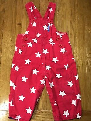 Toby Tiger Boys Dungarees 12/18 Mths