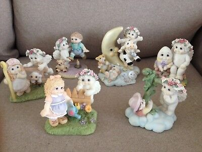 Lot Of 6 1997 & 1998 Dreamsicles Nursery Rhymes Figurines