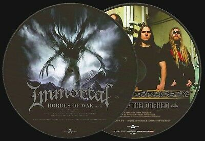 """Immortal / Hypocrisy –  Hordes Of War / Valley Of The Damned Split Picture 7"""""""