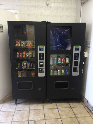 Snack And Soda Selling Together 2 Vending Machines