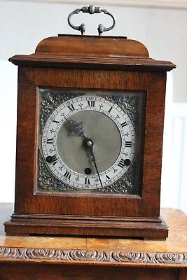 Large Antique English  Bracket/ Carriage Clock Chimes Winchester