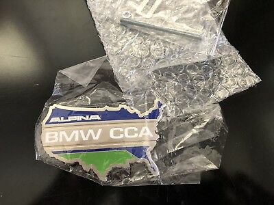 Official Bmw CCA Car Club of America Grill Badge Emblem Special Alpina Edition