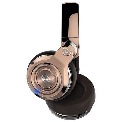 Monster Elements Over Ear Bluetooth Headphones Rose Gold