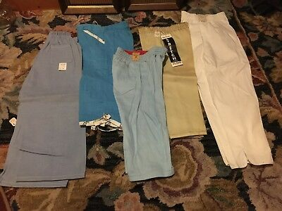 Lot of 5 VTG NOS girls pants. See pics. Cute. 60's.