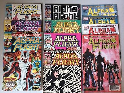 Alpha Flight Lot of 28 Issues | Marvel