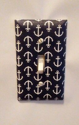 Boys Mini Anchor Switch Plate