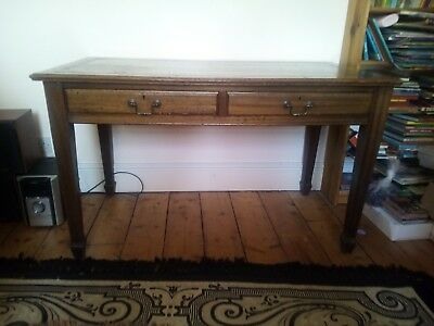 Writing desk Original Victorian Leather Top in a good  condition