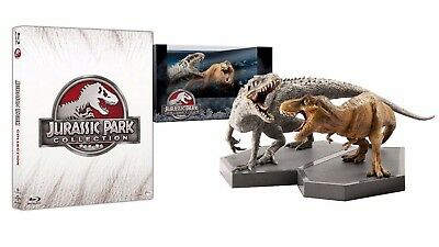 JURASSIC PARK COLLECTION - Edizione limitata (4 Blu-Ray disc + 2 statuette)