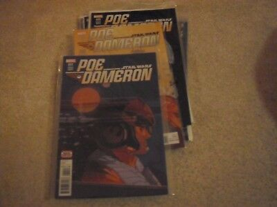 Poe Dameron Star Wars Marvel issues 11-20 & Annual 1 1st First Print NM