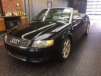 2005 Audi S4  2005 Audi S4 Convertible - Clean!  Low Miles!