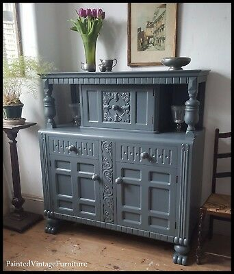 Stunning Painted Vintage Sideboard Buffet Farrow & Ball