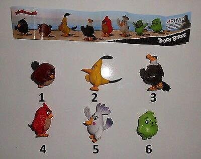Fremdfiguren KID'S WORLD - DAIRY 4 FUN - Angry Birds zur Auswahl