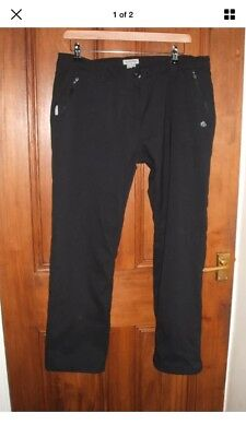 Womes Craghoppers Pro Stretch Thermal Lined Winter Trousers 16R
