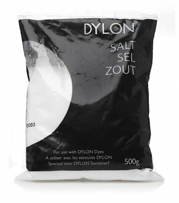 Brand New Dylon Dye Salt 500g Machine Fabric Clothes For Fixing Effective Dyeing