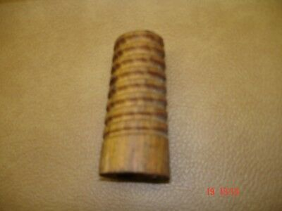 Lot of 16 Glass Insulator wooden mounting posts