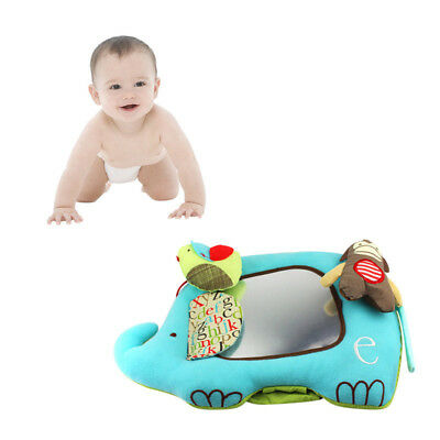 Infant Discover Play Activity Mirror Elephant Baby Toy Self-Stand Floor Mirror